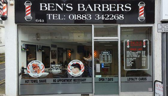 Ben's Barbers 1165 wide