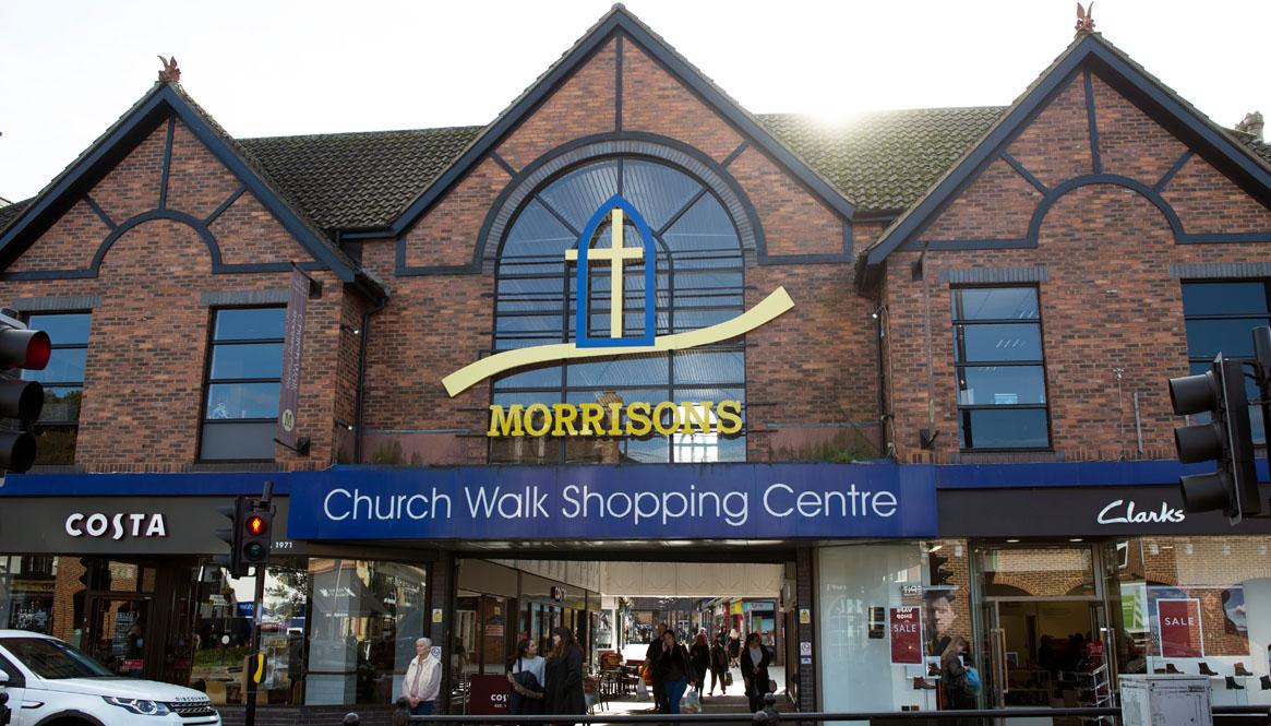 Church Walk Shopping Centre