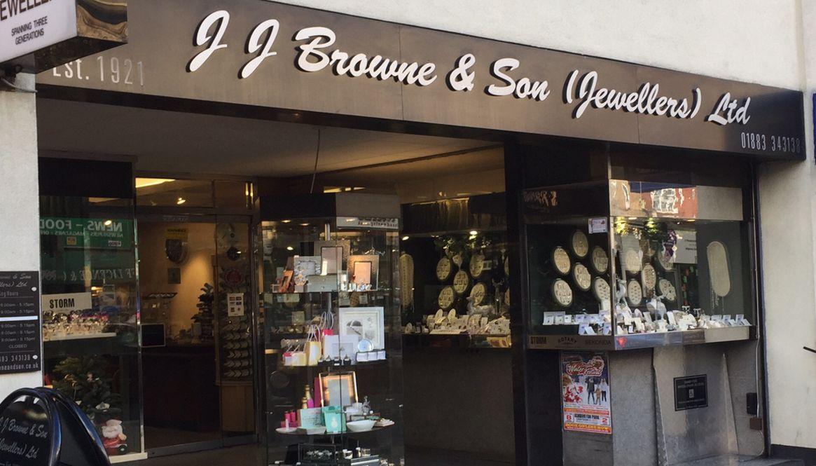 JJ Browne Jewellers, Caterham Valley