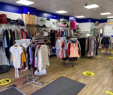 RSPCA charity shop, Caterham Valley, Surrey