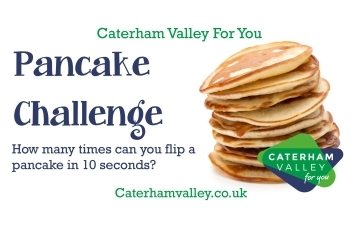 Caterham Valley pancake vid graphics portal 1