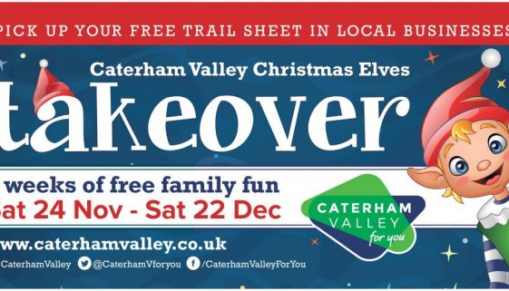 Caterham Valley Christmas Elves Takeover