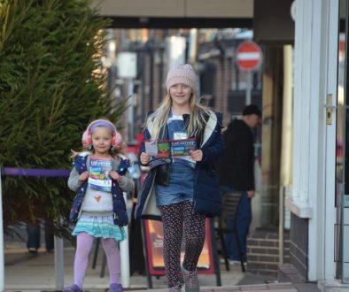 Children on the Caterham Valley elf trail