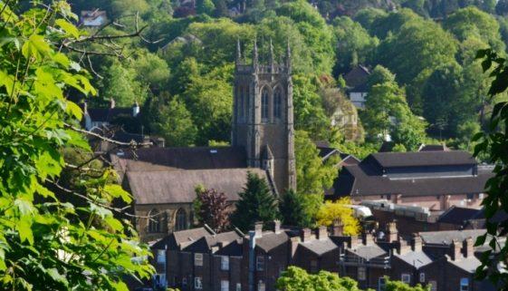 View over Caterham Valley, Surrey