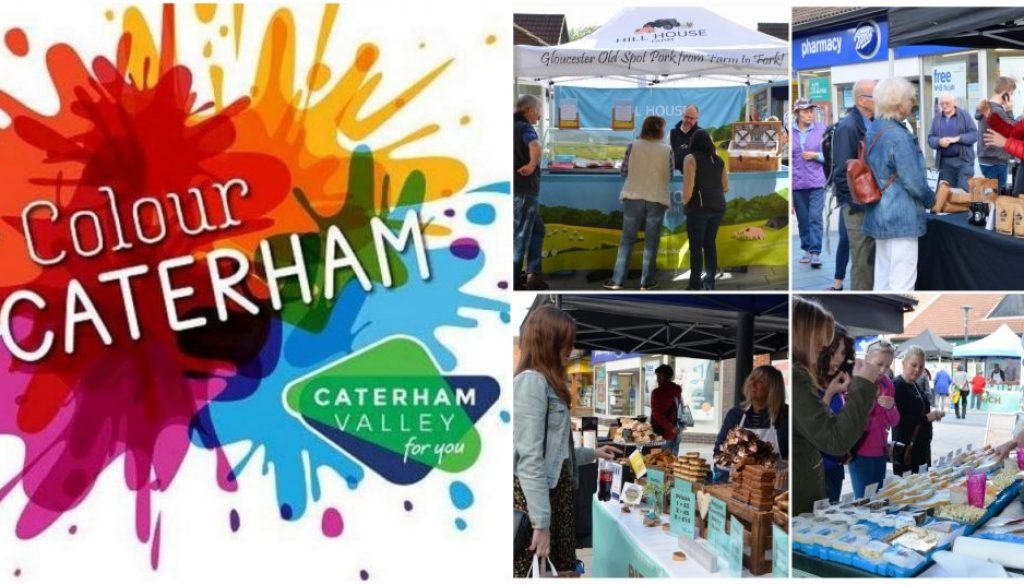 Colour Caterham 2019 and Caterham Valley markets