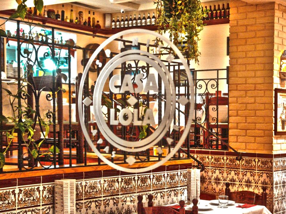 Casa Lola tapas and bar in Caterham, Surrey