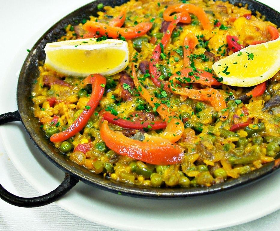 Spanish paella at Casa Lola, Caterham, Surrey