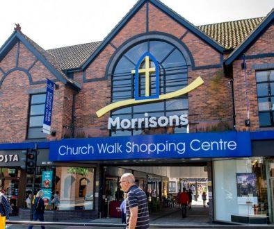 Church Walk Shopping Centre in Caterham Valley