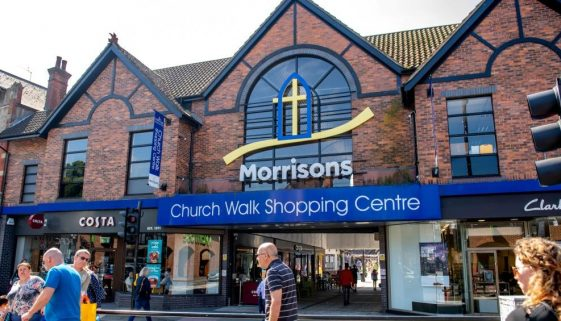Church Walk Shopping Centre in Caterham Valley