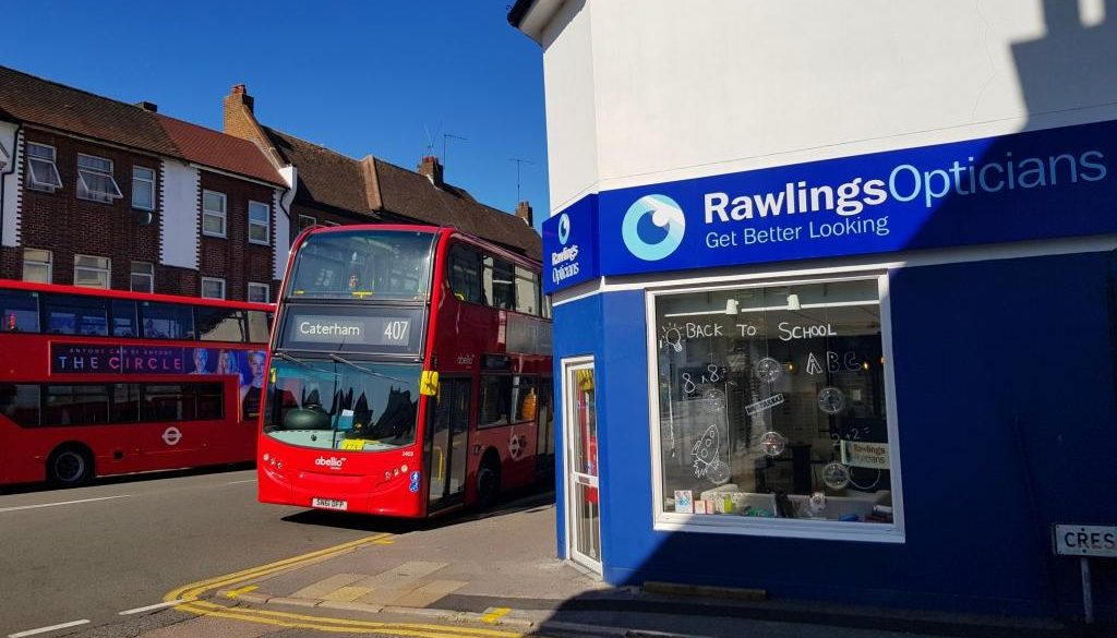 Rawlings Opticians, Caterham Valley