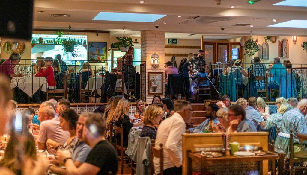 Casa Lola restaurant in Caterham Valley, Surrey