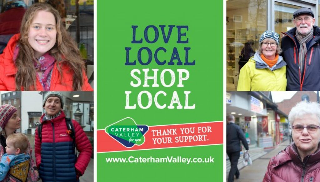 Caterham Valley For You - Love Local, Shop Local 2020 - residents and visitors