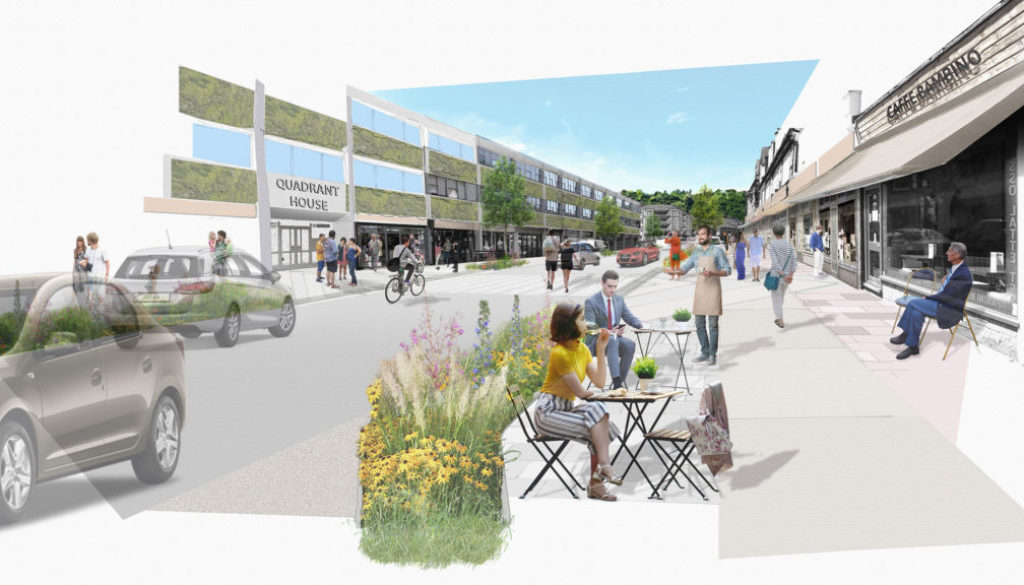 Regeneration of Croydon Road in Caterham Valley town centre
