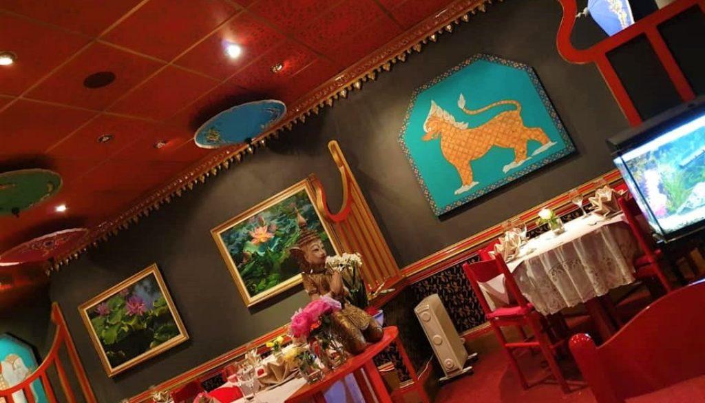 Bua Thai restaurant, Caterham, Surrey