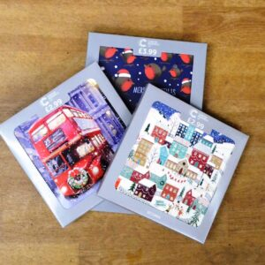 Cancer Research UK - charity Christmas cards