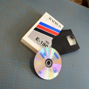 Caterham Digital - VHS to DVD transfer