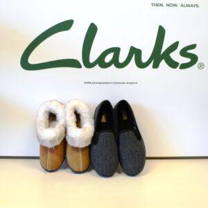 Clarks - slippers