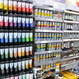 Crafts Stationers - Winsor & Newton paints and brushes