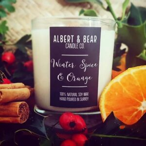 Pedrick's Zero Waste Shop - Albert and Bear candles