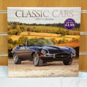 Salvation Army - 2021 Classic Cars calendar