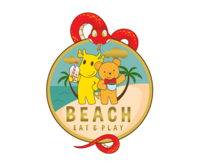 Beach Play Café, Caterham Valley, Surrey with snake