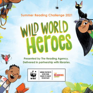 Wild World Heroes at Caterham Valley Library, Surrey