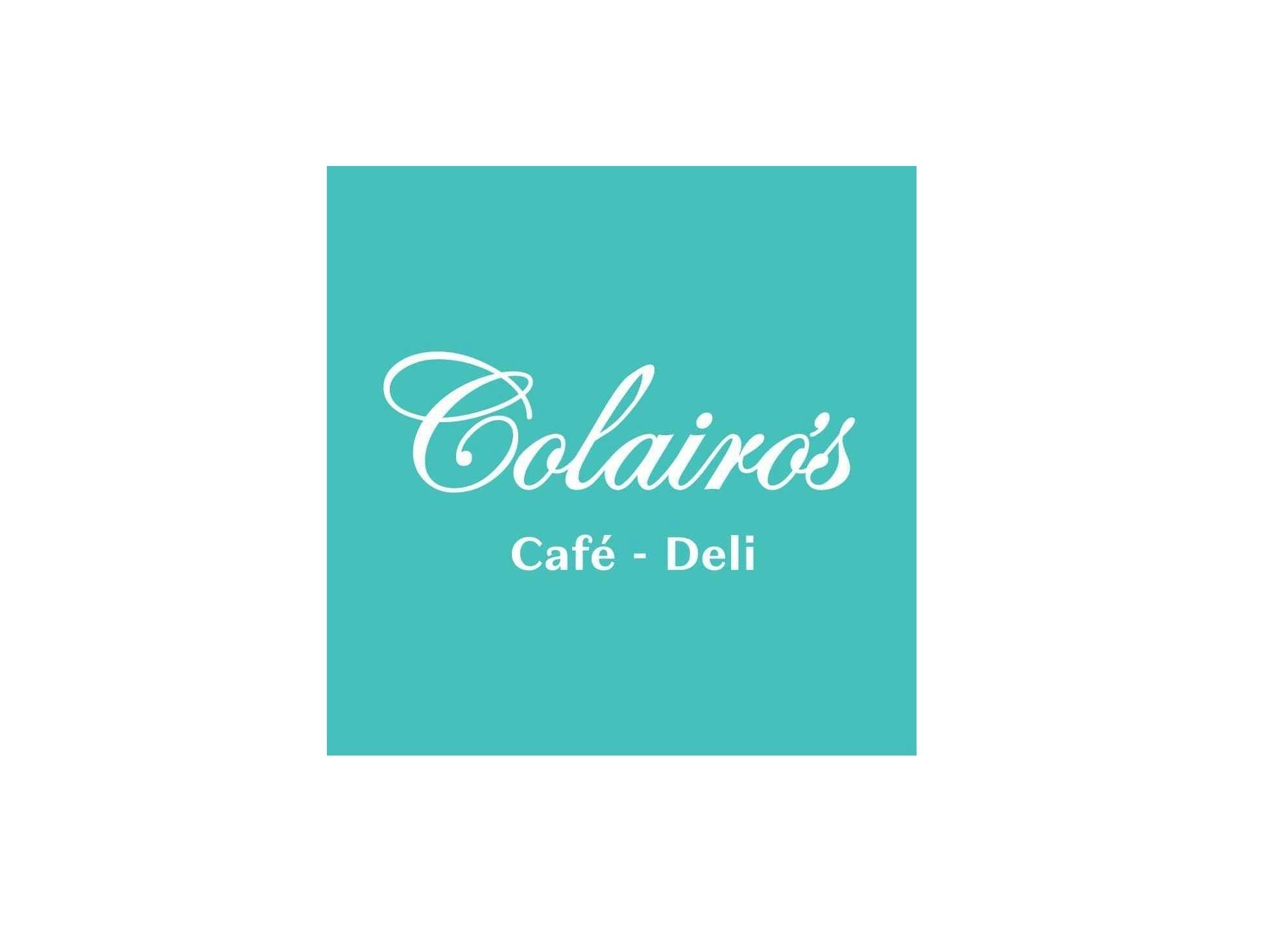 Colairo's coffee shop, Caterham, Surrey logo
