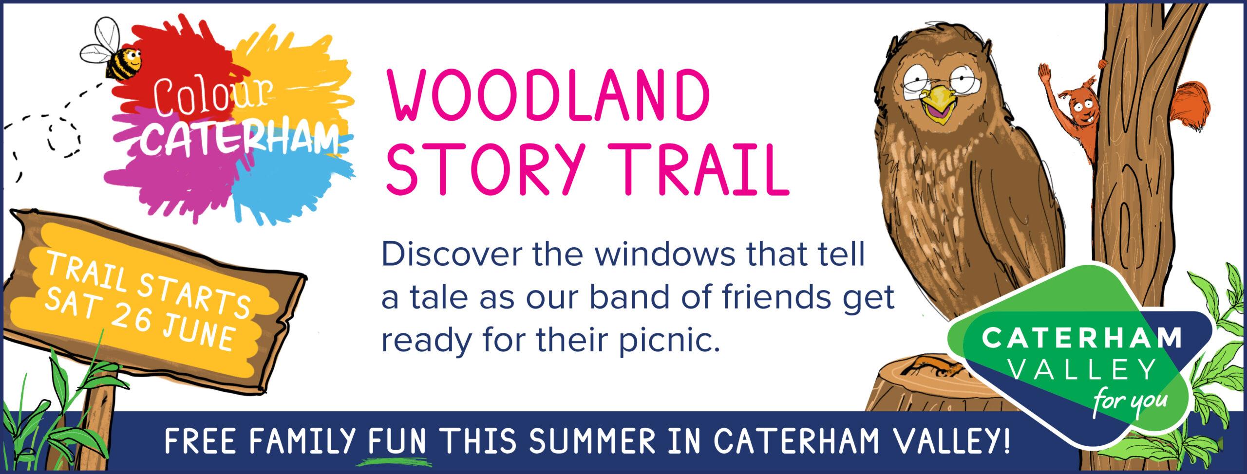 Colour Caterham, Surrey, event trail 2021