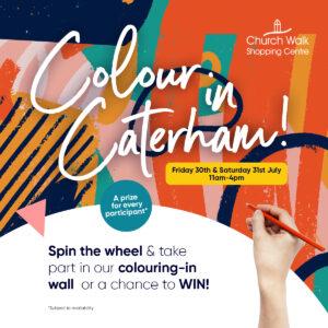 Colour in Caterham at Church Walk, Caterham Valley, Surrey