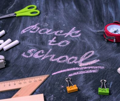 Back to school for new term in Caterham Valley, Surrey