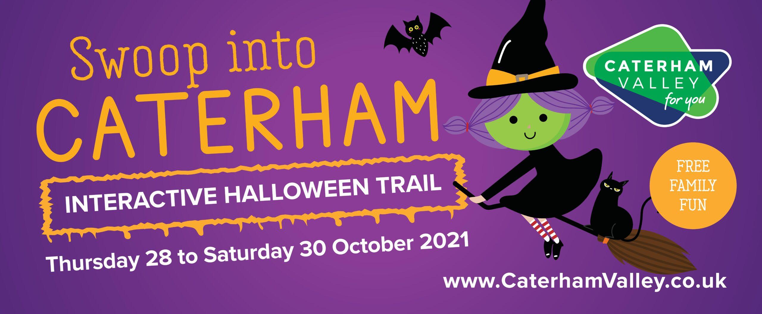 Halloween 2021 in Caterham Valley, Surrey
